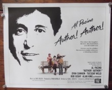 Author Author, Original Half Sheet Movie Poster, Al Pacino, Dyan Cannon, '82
